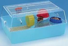 Jaula hamster de plástico