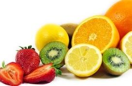 Fruta para ninfas