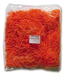 Zanahoria rallada para agapornis
